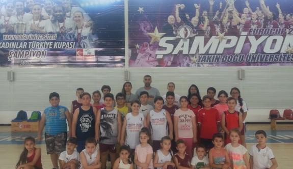 YDÜ Basketbol Akademi sıkı çalışıyor