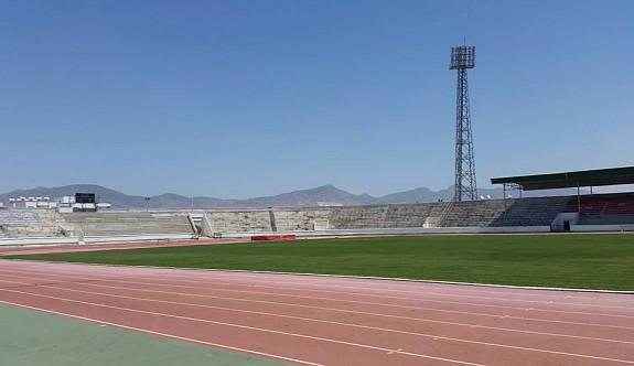 Atatürk Stadı bakıma alındı