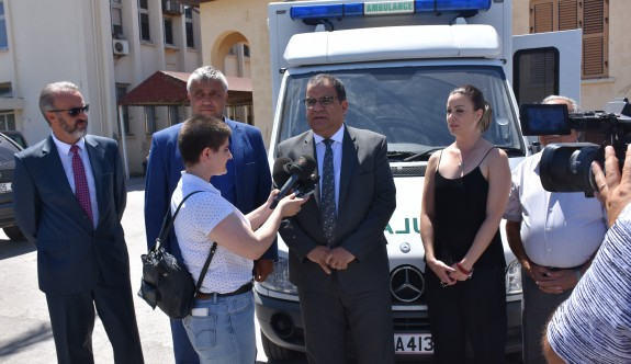 Baştaş İnşaat'tan Esentepe'ye ambulans bağışı