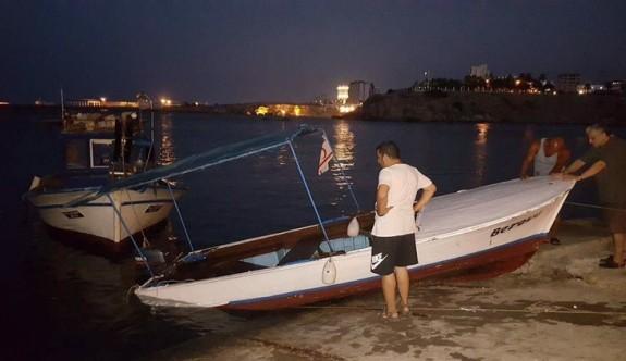 Berova'nın teknesi battı
