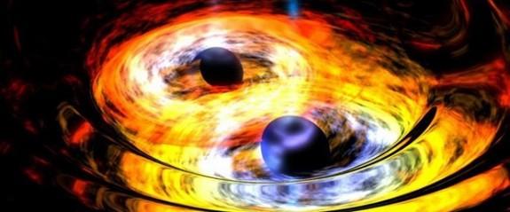 Birbirinin yörüngesinde dönen kara delik çifti keşfedildi