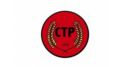 """CTP: """"Federal çözüm gerçekçi tek plan"""""""