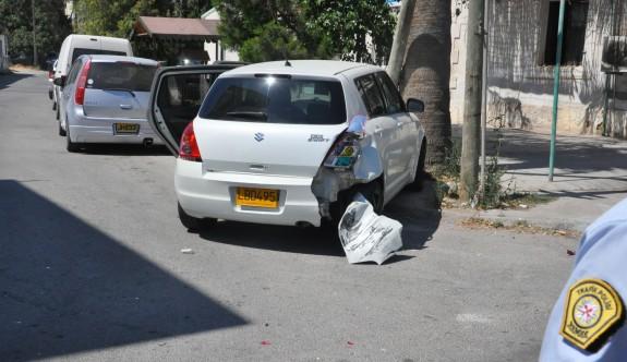 Dikkatsiz şoför, kazaya neden oldu