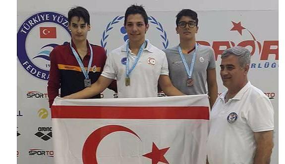 Doğukan Türkiye birincisi