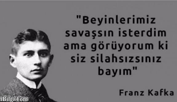 Döneminin yasaklı yazarlarından, Kafka