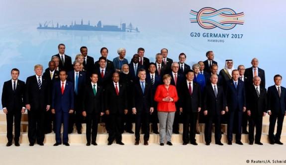 G-20 sonuç bildirgesi açıklandı