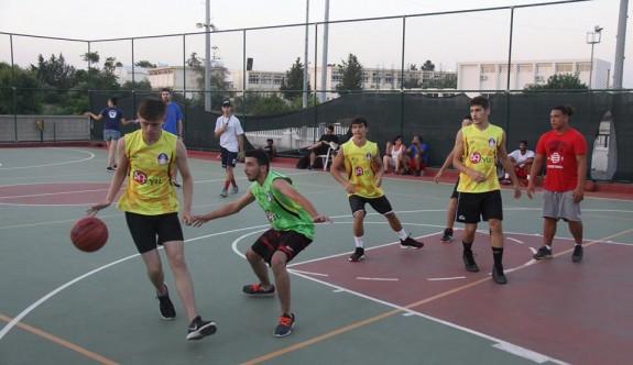 Gençler, İskele'de basketbol şöleninde buluştu