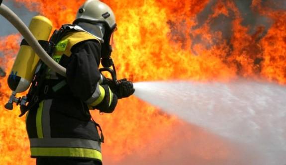 Girne Cafe Mekan'da yangın