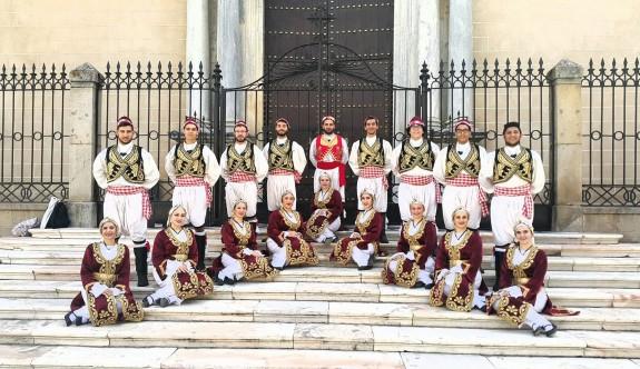 İspanya'da halk danslarımızla kültürümüzü tanıttılar