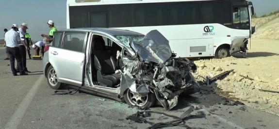 Kalecik'te kaza, bir ağır yaralı