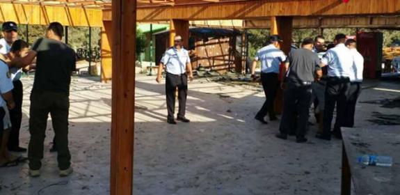 Karpaz'da yıkım ve tutuklama