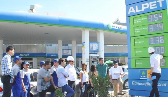 Mağusa'da benzin istasyonu soyuldu