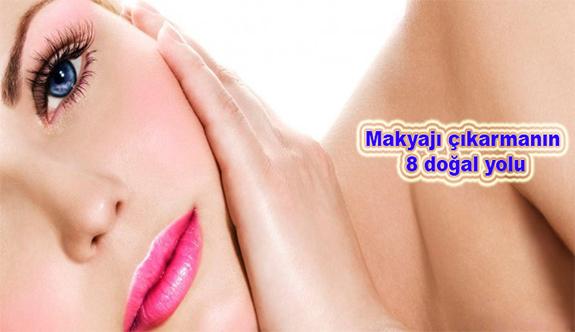 Makyajı çıkarmanın 8 doğal yolu