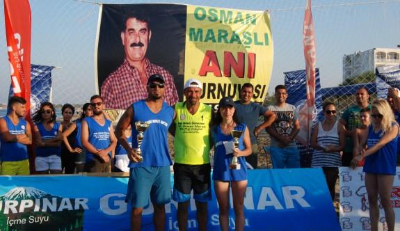 Osman Maraşlı, plaj voleybolu ile anıldı