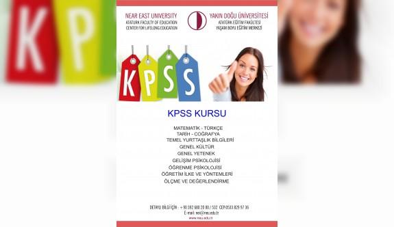 YDÜ'de memur adaylarına KPSS kursu
