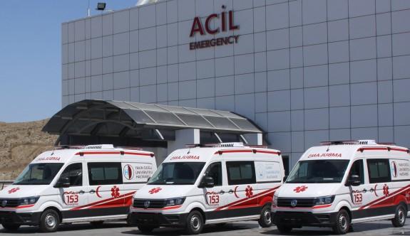 153 Acil'e üç yeni ambulans daha