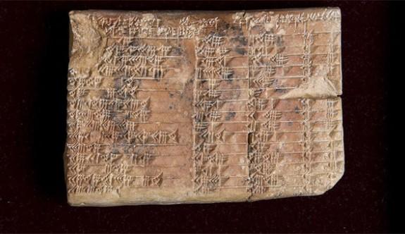 Babil tableti, dünya tarihini sarstı!