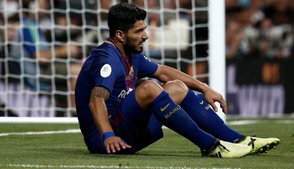 Barça'da Suarez şoku