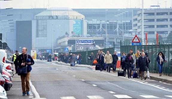 Brüksel havalimanındaki grev 10 bin yolcuyu mağdur etti