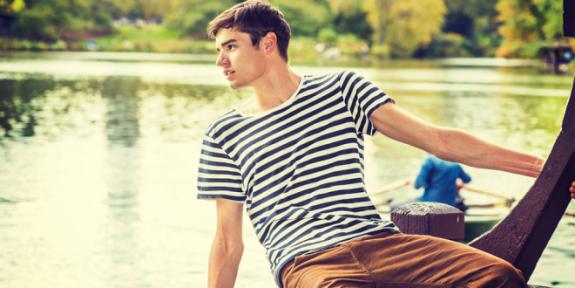 Erkekler Çizgilileri Nasıl Giymeli?