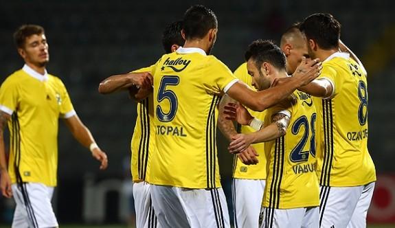 Fenerbahçe başkentte moral buldu