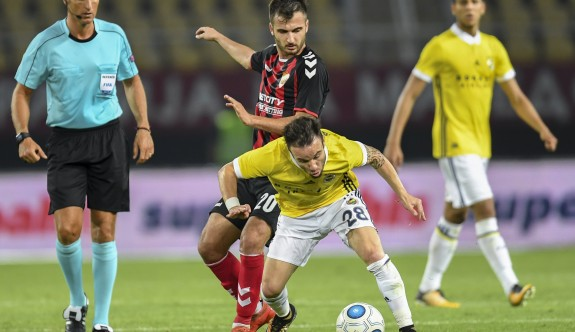 Fenerbahçe'ye Üsküp'te büyük şok