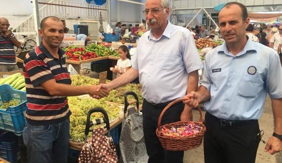 Güngördü'den Açık Pazar'a bayram ziyareti