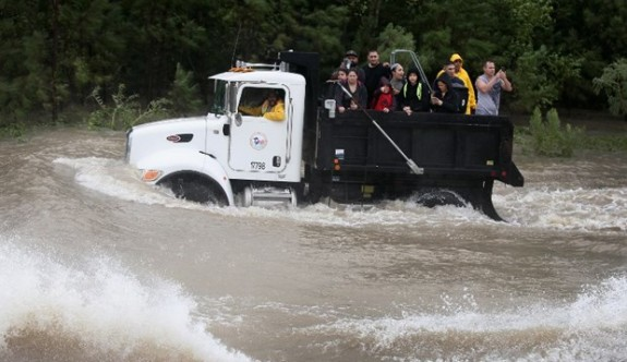 Harvey Kasırgası yağış rekoru kırdı