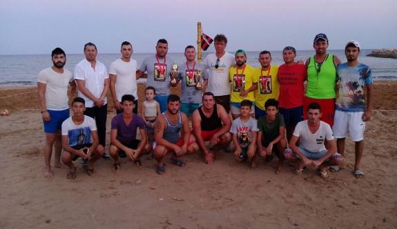 Kumyalı'da Voleybol Anı Turnuvası düzenlendi
