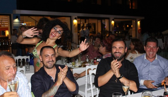 Mağusa'da Kıbrıs geceleri bir başka