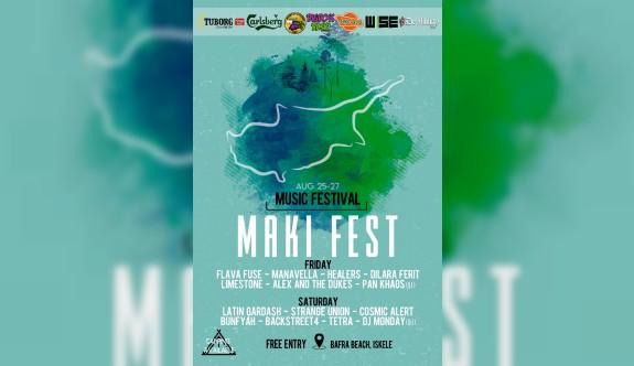 Maki müzik festivali Bafra'da yapılacak