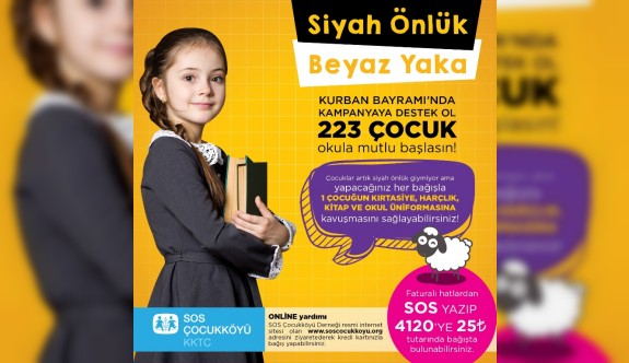"""""""Okul sıralarının gülen yüzü olun"""""""
