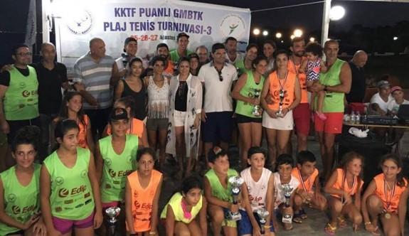 Plaj Tenisi'nde şampiyonlar belli oldu