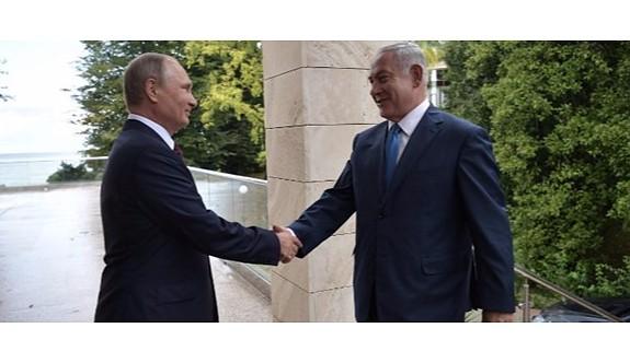 Putin'le buluşan Netanyahu'dan İran uyarısı
