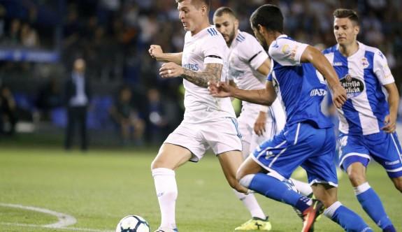 Real Madrid'den Deportivo'ya fark