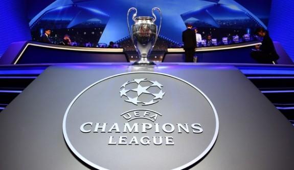 Şampiyonlar ligi grupları belli oldu