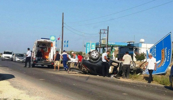 Tuzluca Kavşağı'nda korkunç kaza