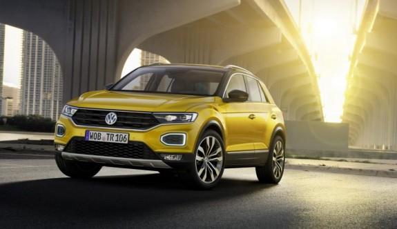 Volkswagen'in yeni kompakt SUV'u T-Roc