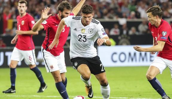 Almanya, Norveç'e gol yağdırdı