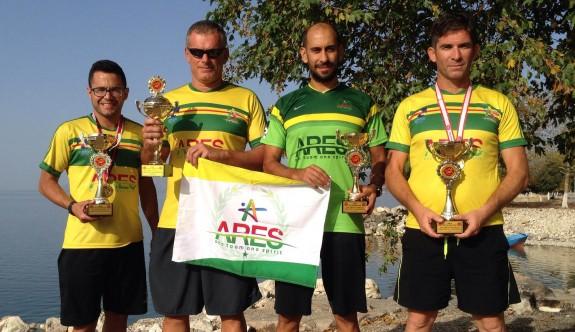 Aresliler, Türkiye şampiyonluğuna abone