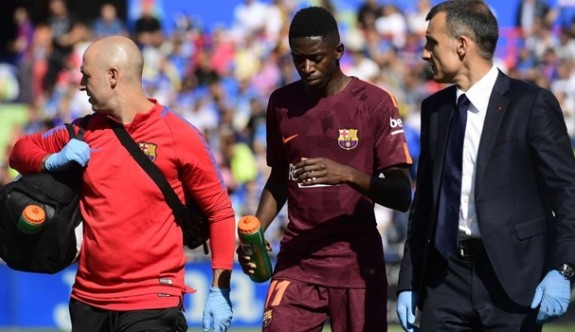 Barça'da Dembele şoku