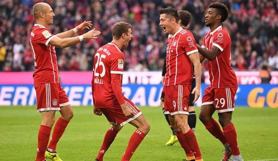 Bayern Münih dört dörtlük