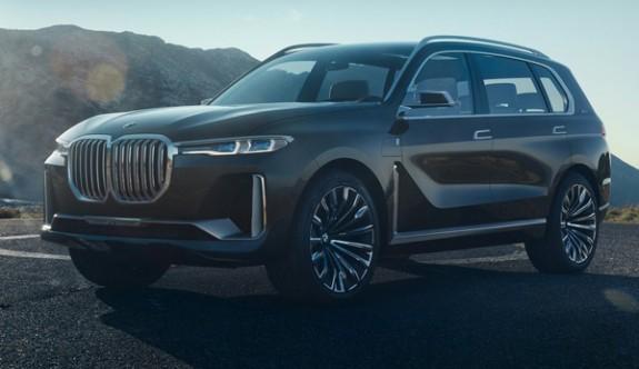 BMW en büyük SUV'u X7