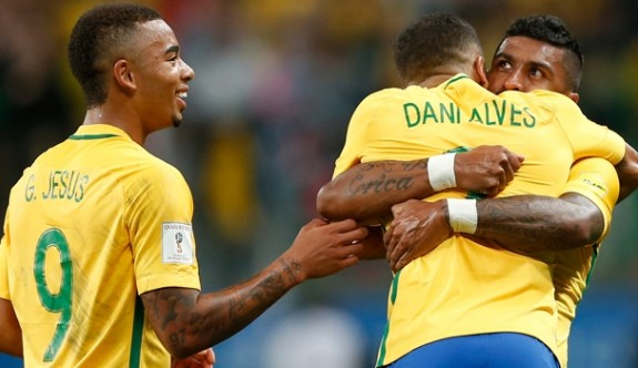 Brezilya liderliğini korudu