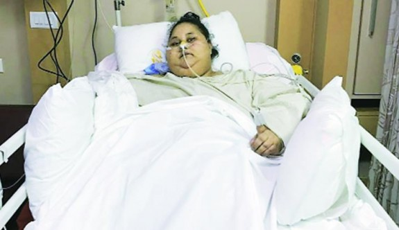 Dünya'nın en şişman kadını hayatını kaybetti