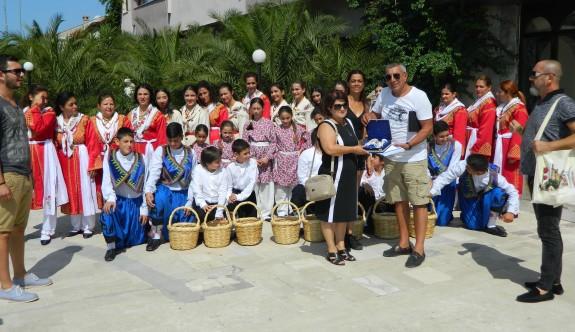 Foça'da kültürümüz tanıtıldı