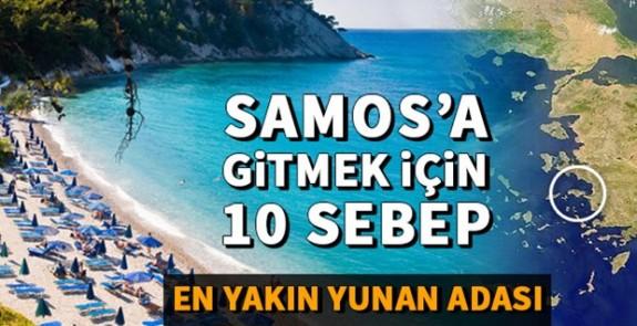 Görülesi Bir Yunan Adası; Samos