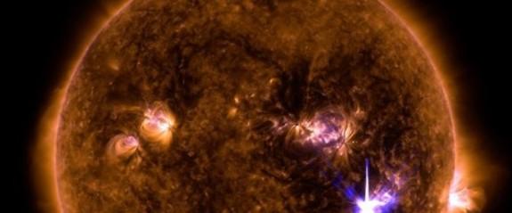 Güneş'teson 10 yılın en büyük patlaması