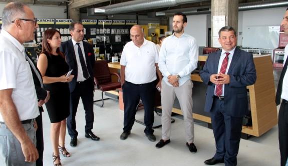 Haspolat Ticaret Merkezi'nin telefon ve internet alt yapısı güçlenecek
