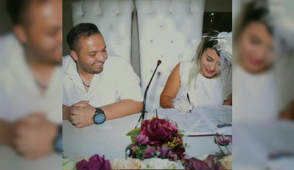 İlk nikah Adana'da düğün Güzelyurt'ta